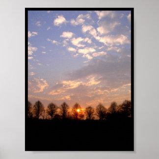 Sun Set Poster