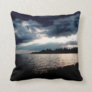 "Sun Setting, Throw Pillow 16"" x 16"""