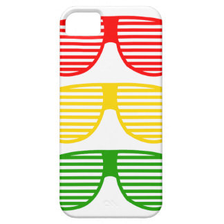 Sun Shades Reggae iPhone Case