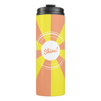 Sun Shine Geometric Thermal Tumbler