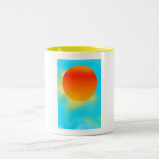 Sun Shiny Cards Two-Tone Coffee Mug