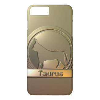Sun sign Taurus Engraved Case-Mate iPhone Case