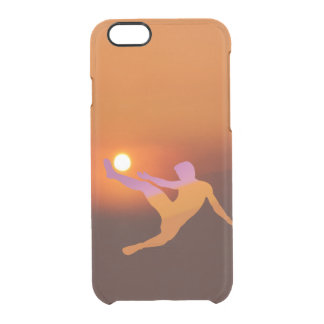 Sun Soccer iPhone 6/6S Clear Case