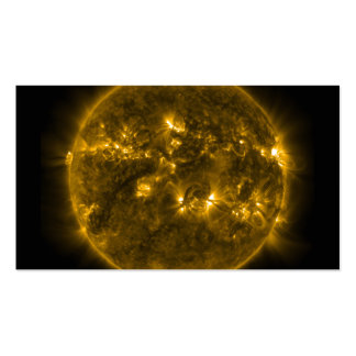 Sun Solar Flares Pack Of Standard Business Cards