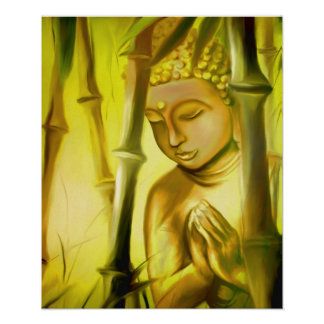 Sun solution Buddha Poster