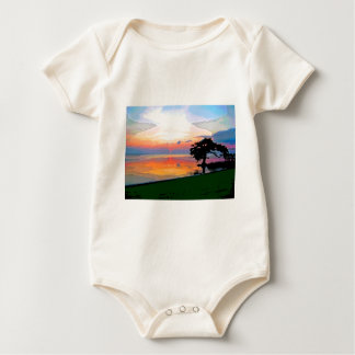 Sun Spill Infant Organic Creeper