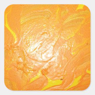 Sun Spot Square Sticker