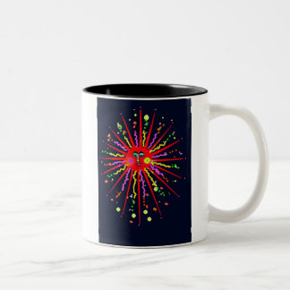 Sun Spots Two-Tone Coffee Mug