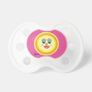 Sun Sunny Face Cutie Pie  Punim Baby Pacifiers
