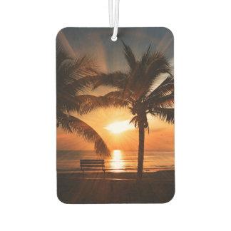 Sun Sunset Sunrise Car Air Freshener