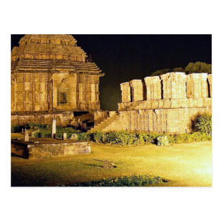 Sun Temple, Konark, India Postcard
