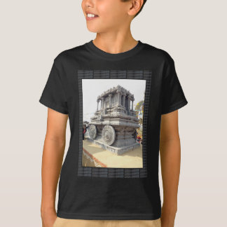 SUN temples of India miniature stone craft statue T-Shirt