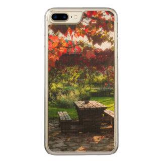 Sun through autumn leaves, Croatia Carved iPhone 7 Plus Case