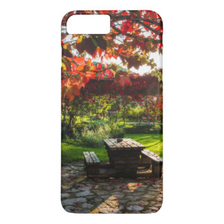 Sun through autumn leaves, Croatia iPhone 8 Plus/7 Plus Case