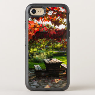 Sun through autumn leaves, Croatia OtterBox Symmetry iPhone 8/7 Case