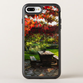 Sun through autumn leaves, Croatia OtterBox Symmetry iPhone 8 Plus/7 Plus Case