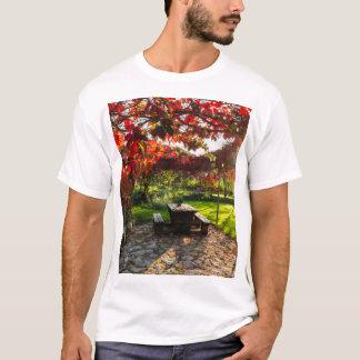 Sun through autumn leaves, Croatia T-Shirt