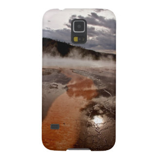 SUN THROUGH STORM CLOUDS IN GRAND PRISMATIC GALAXY S5 COVERS