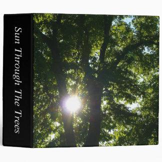 Sun Through The Trees (2.0in) Vinyl Binders