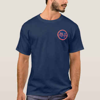 Sun Tzu Red & Blue Seal Shirt