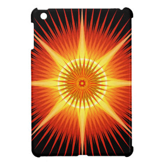 Sun Urchin Mandala iPad Mini Covers