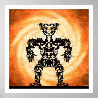 Sun Warrior #4 Poster