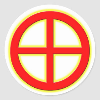 Sun Wheel Sticker