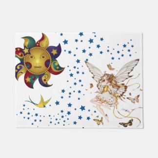 sun with fairy doormat
