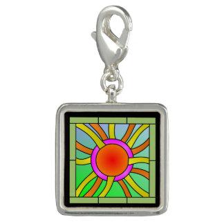 Sun with Rays Deco Art Charm