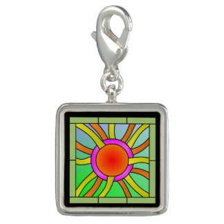 Sun with Rays Deco Art Charms