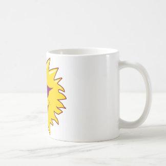 Sun with Sunglasses Classic White Coffee Mug