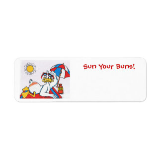 Sun Your Buns/Vacation Humor