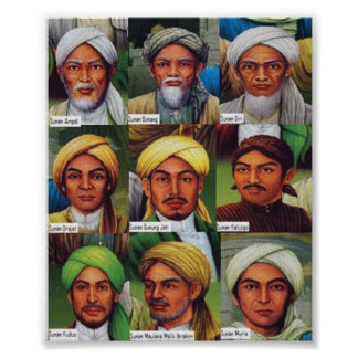 Sunan wali Allah s.w.t. Poster
