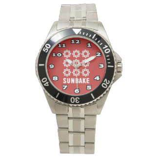 SunBake Stainless Steel Bracelet Watch
