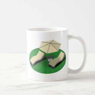 Sunbathing Coffee Mug