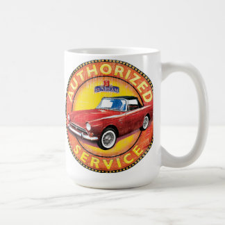Sunbeam Alpine service sign Coffee Mug