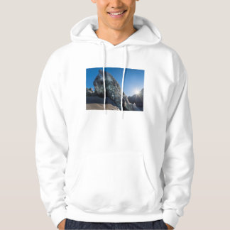 Sunbeam and ice, Iceland Hoodie
