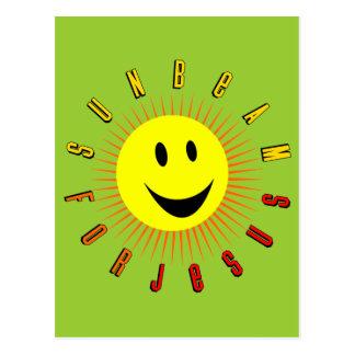 Sunbeam For Jesus Postcard
