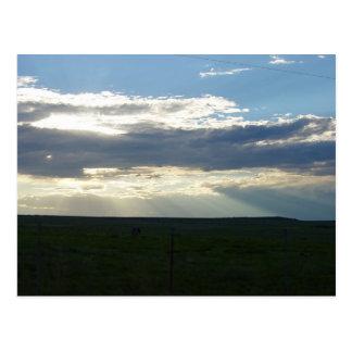 Sunbeams Descending 1 Postcard