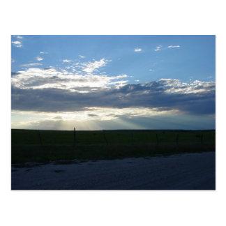 Sunbeams Descending 2 Postcard