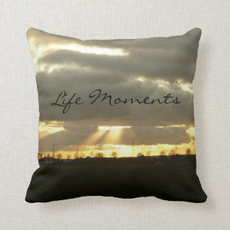 Sunbeams Life Moments Quote Pillow--American MoJo Throw Pillows