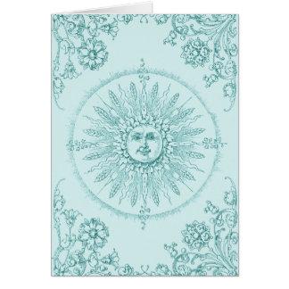 Sunbeams on the Water's Edge Card
