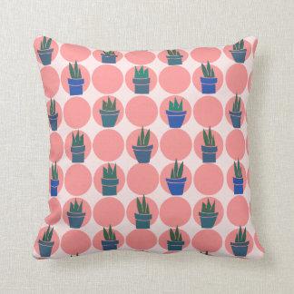 Sunburns and Succulents - Throw Pillow