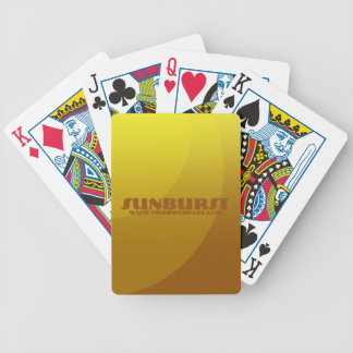 Sunburst Bicycle® Poker Playing Cards