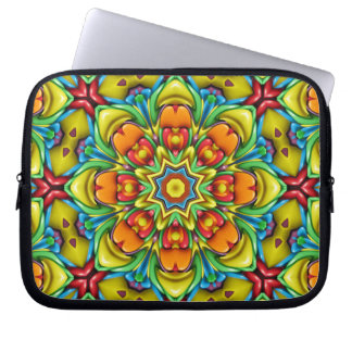 Sunburst Colorful Neoprene Laptop Sleeves