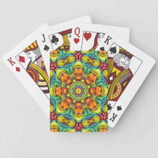 Sunburst Colorful Playing Cards
