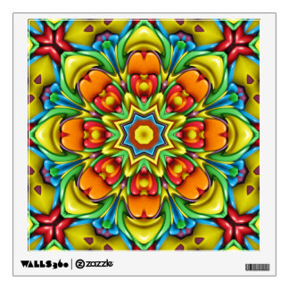 Sunburst Colorful Wall Decals
