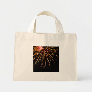 Sunburst Fireworks Abstract Photography Tote Mini Tote Bag
