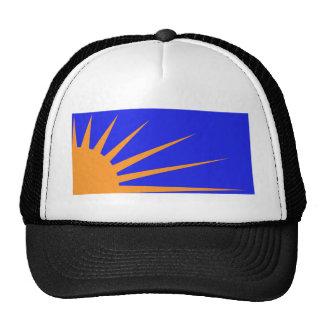 Sunburst Flag Trucker Hats