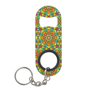 Sunburst  Kaleidoscope   Bottle Openers, 3 styles Mini Bottle Opener
